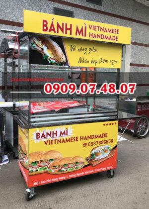 Giá tủ bán bánh mì
