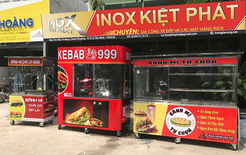 Báo giá tủ bán bánh mì Thổ Nhĩ Kỳ
