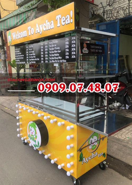 xe bán trà sữa lưu động1