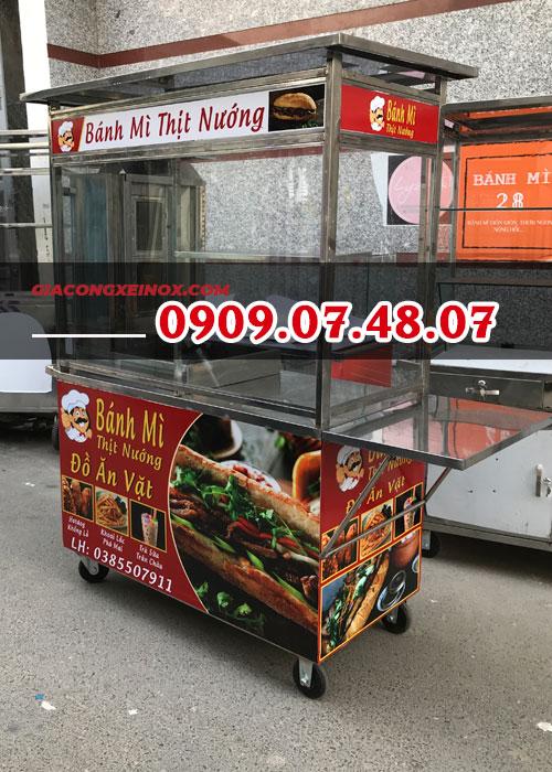 Xe bánh mì kebab 1m2 3