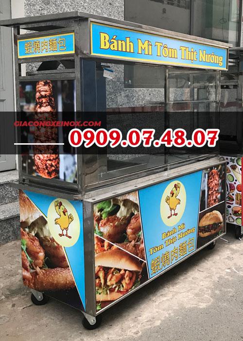 Xe bánh mì kebab 1m4- 1