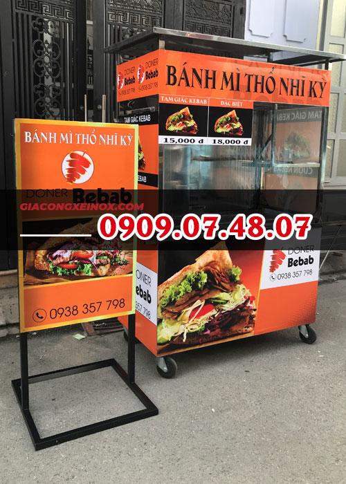Địa điểm bán xe bánh mì Thổ Nhĩ Kỳ