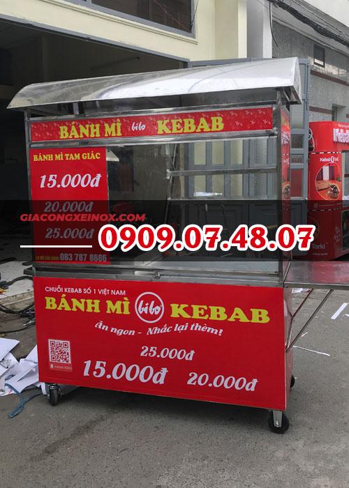 Xe bánh mì kebab 1m4- 5