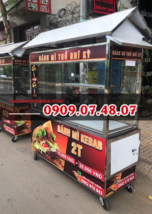 Xe bánh mì kebab 1m4- 6