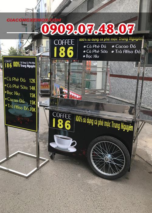 Giá xe bán cà phê