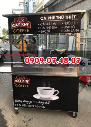 Mẫu xe cafe mang đi