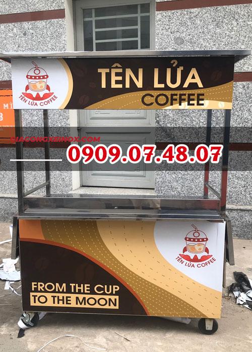 Xe cà phê lưu động giá rẻ