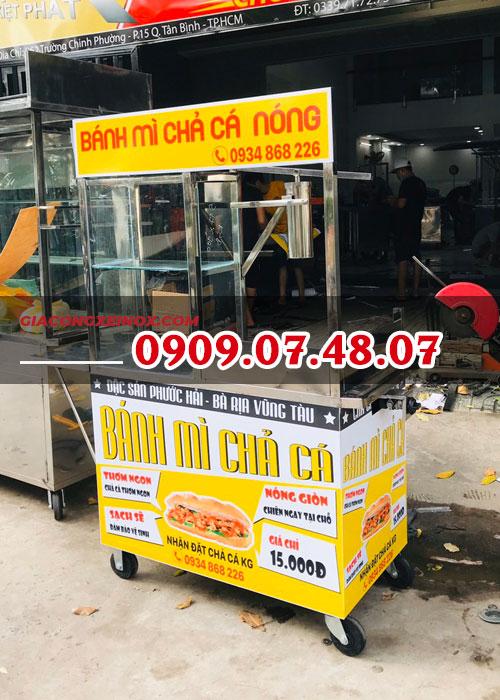 Mua xe bán bánh mì chả cá giá rẻ
