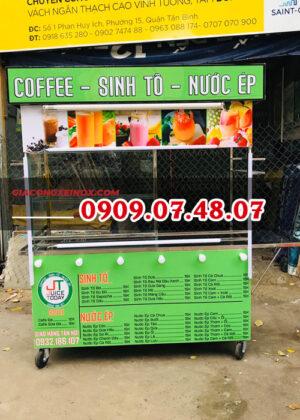 Mua xe bán cà phê sinh tố