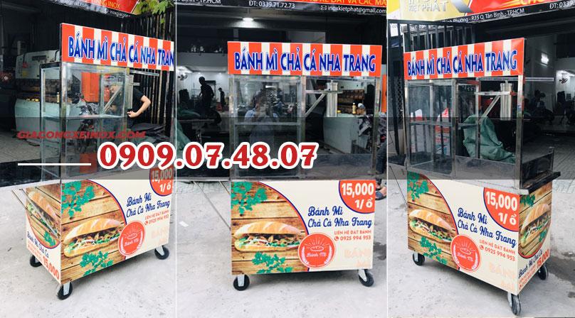 Trang trí xe bánh mì