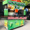 Xe bán nước ép trái cây