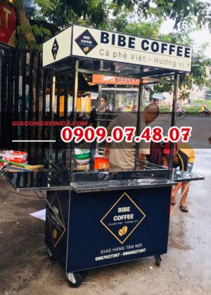 Trang trí xe cà phê lưu động