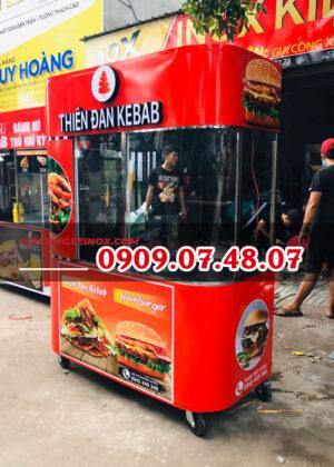 Xe bán bánh mì Doner Kebab