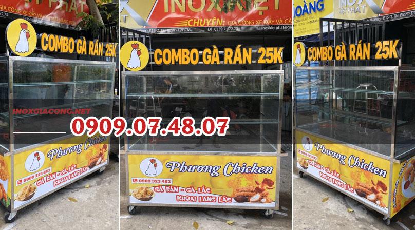 Mua xe bán gà rán tại Đà Nẵng