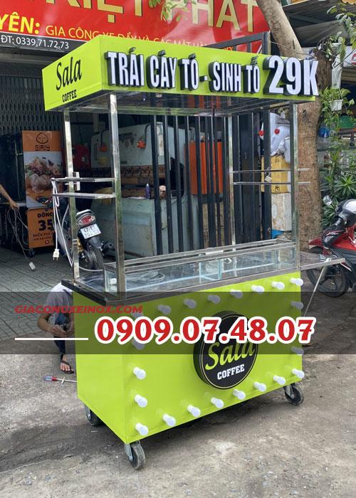Tủ bán nước ép trái cây
