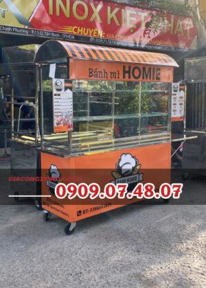 Tủ bánh mì inox 1m6