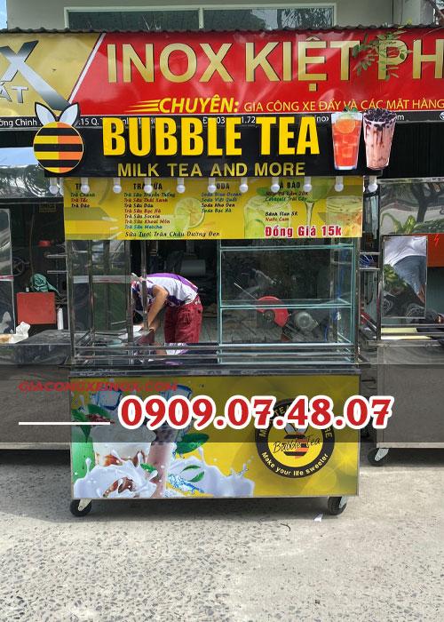 Xe bán trà sữa 1m6