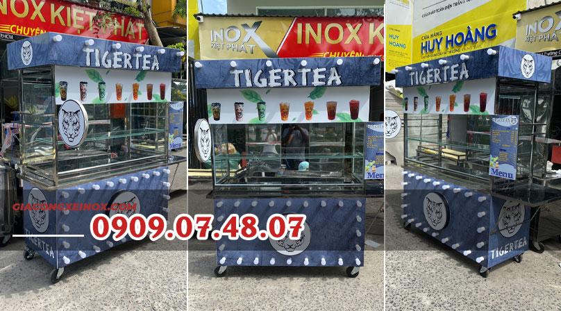 Xe bán trà sữa cũ giá rẻ 1m2