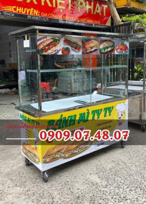 Sản xuất xe bánh mì 1m4
