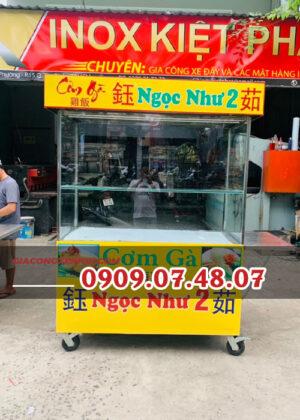 Tủ bán cơm tấm 1m4