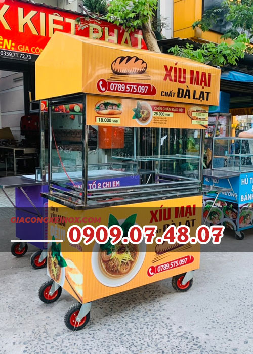 Hình ảnh: Địa chỉ cung cấp xe bán bánh mì uy tín cho bạn