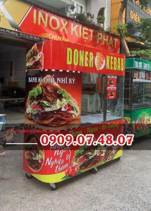 Xe bánh mì Doner Kebab 1m8