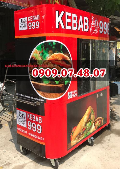 xe bánh mì doner kebab cũ