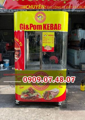 Xe bánh mì Doner Kebab Kiệt Phát 1m2