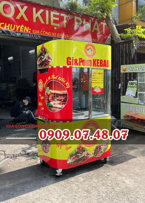 xe banh mi doner kebab kiet phat 1m2 3