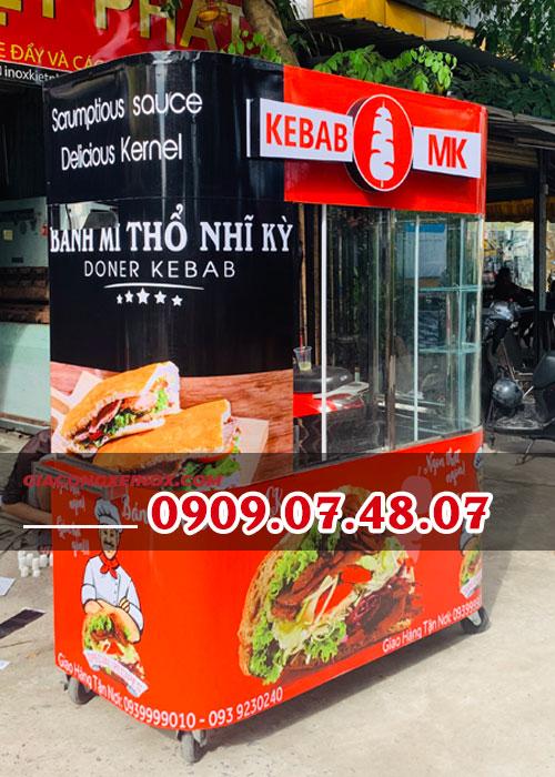 xe bánh mỳ Doner Kebab