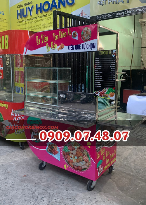 Hình ảnh: Đặc điểm nổi trội của xe cá viên chiên Kiệt Phát